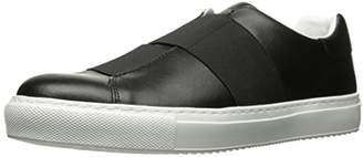 Armani Jeans Men's Elastic Strap Sneaker Fashion