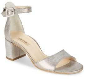 Paul Green Lonnnie Block Heel Sandals $339 thestylecure.com