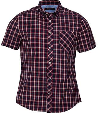 Ben Sherman Short Sleeve Heritage Check Shirt Multi Coloured