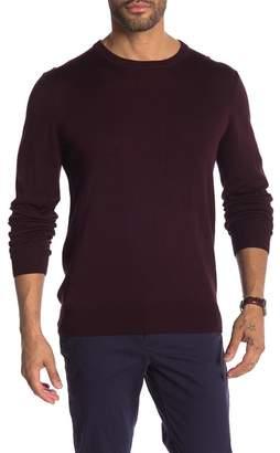 Perry Ellis Solid Crew Neck Sweater