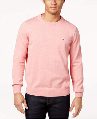 Tommy Hilfiger Signature Solid Crew-Neck Sweater, Created for Macy's