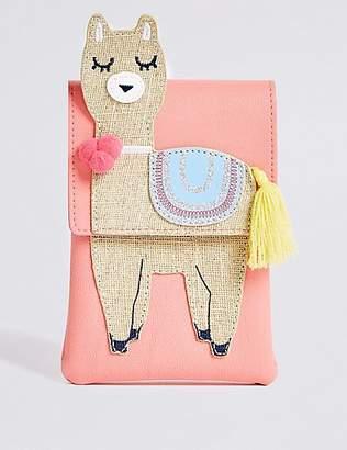 Marks and Spencer Kids' Novelty Llama Cross Body Bag