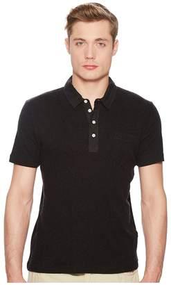 Billy Reid Short Sleeve Cashmere Polo