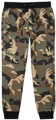True Religion Camouflage-print Cotton Jogging Trousers