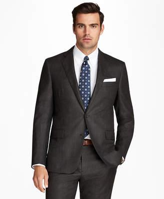 Brooks Brothers Regent Fit Flannel Windowpane 1818 Suit