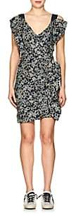 Etoile Isabel Marant Women's Topaz Linen Minidress - Faded Black