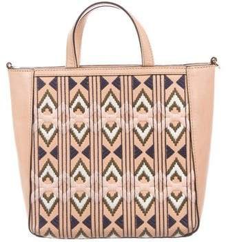 Tory Burch Mini Embroidered E/W Tote