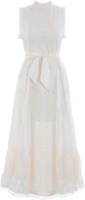 Zimmermann Laelia Pannelled Long Dress