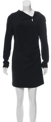 Roland Mouret Long Sleeve Mini Dress