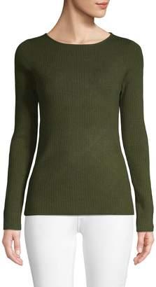 Stella + Lorenzo Cutout Long-Sleeve Sweater