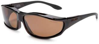 Foster Grant Haven Fits Over Sunwear Hunter Polarized Rectangular Sunglasses