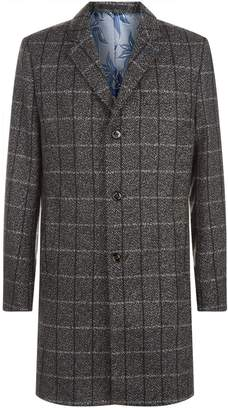 Ted Baker Ando Check Printed Coat