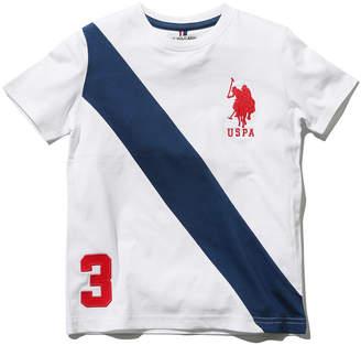 M&Co US Polo Assn. stripe print t-shirt