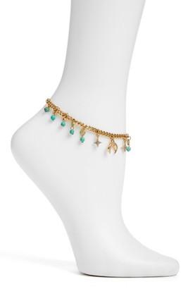 Women's Ettika Charm Anklet $40 thestylecure.com