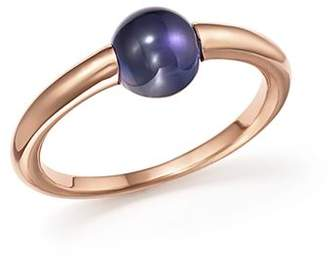 Pomellato M'Ama Non M'Ama Ring with Iolite in 18K Rose Gold