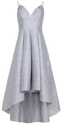 Aidan Mattox Spaghetti Strap Long Dress
