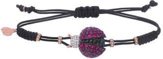 Pippo Perez 18k Rose Gold Ladybug Diamond & Ruby Bracelet