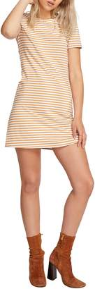 Volcom Looking Out Stripe T-Shirt Dress