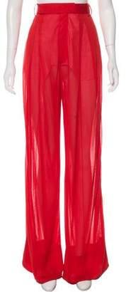 Celine 2018 High-Rise Pants