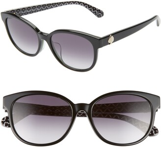 Kate Spade Emaleigh 55mm Cat Eye Sunglasses