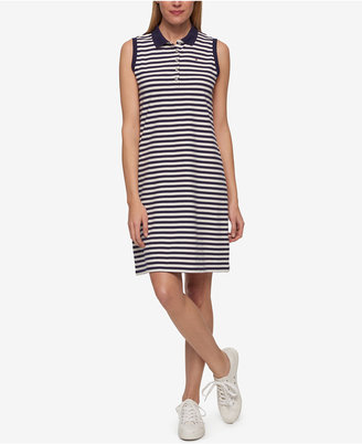 Tommy Hilfiger Striped Polo Dress, Only at Macy's $99.50 thestylecure.com