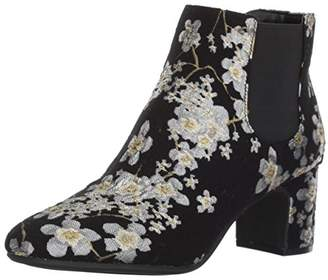 Anne Klein Women's GORGIA Fabric Ankle Boot