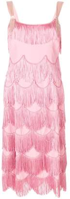 Marc Jacobs fringe party dress