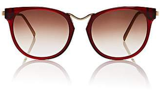 Thierry Lasry WOMEN'S GUMMY SUNGLASSES - RED