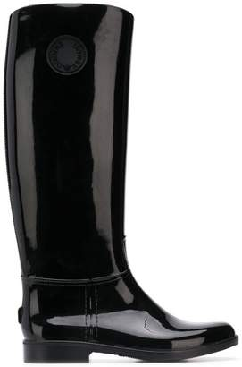 Emporio Armani (エンポリオ アルマーニ) - Emporio Armani knee length wellies