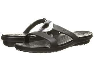 Crocs Sanrah Beveled Circle Sandal Women's Sandals