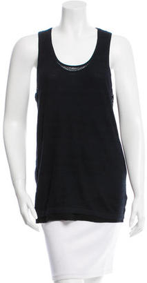 Inhabit Pointelle Crew Neck Top w/ Tags $85 thestylecure.com