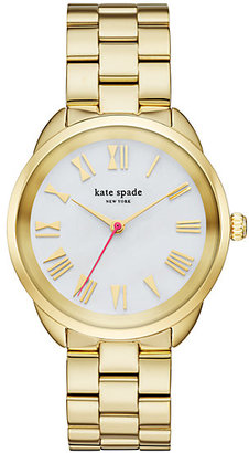 Gold crosstown watch $250 thestylecure.com
