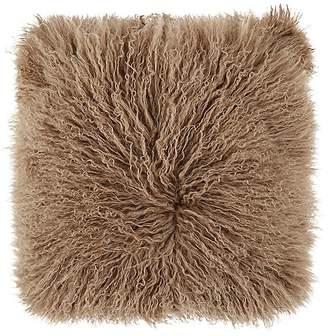 Adrienne Landau Lamb Fur Pillow