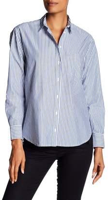 Madewell Oversized Striped Ex Boyfriend Shirt