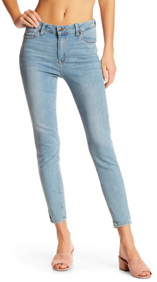 Just USA High Rise Skinny Ankle Jean (Juniors) $59.99 thestylecure.com