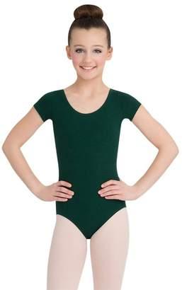 Capezio Dance Girls' Short Sleeve Leotard CC400C (Set of 2)