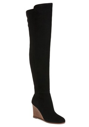 Women's Vince Camuto 'Granta' Over The Knee Wedge Boot $229.95 thestylecure.com