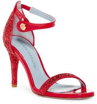 Chiara Ferragni Glitter Open Toe Sandal