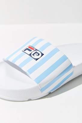 Fila + Pierre Cardin Striped Slide Sandal