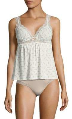 Eberjey Sleeveless Floral-Lace Camisole