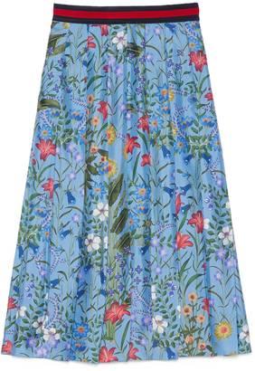 New Flora print skirt $1,900 thestylecure.com