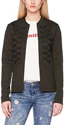 745b6767164904 Only Women's Onlhilda L/s Cardigan Ess Blazer,(Manufacturer Size: Large)