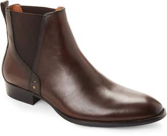 Steve Madden Brown Simon Leather Chelsea Boots