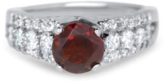 Alberto Round Garnet Vintage Ring