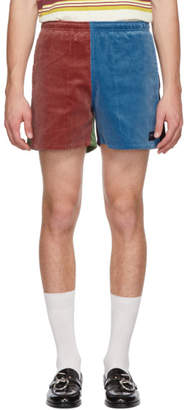 Noah NYC Multicolor Corduroy Winter Running Shorts