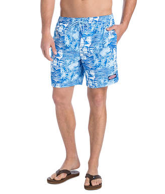 Vineyard Vines At Sea Patchwork Chappy Trunks