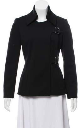 Barbara Bui Virgin Wool Short Coat