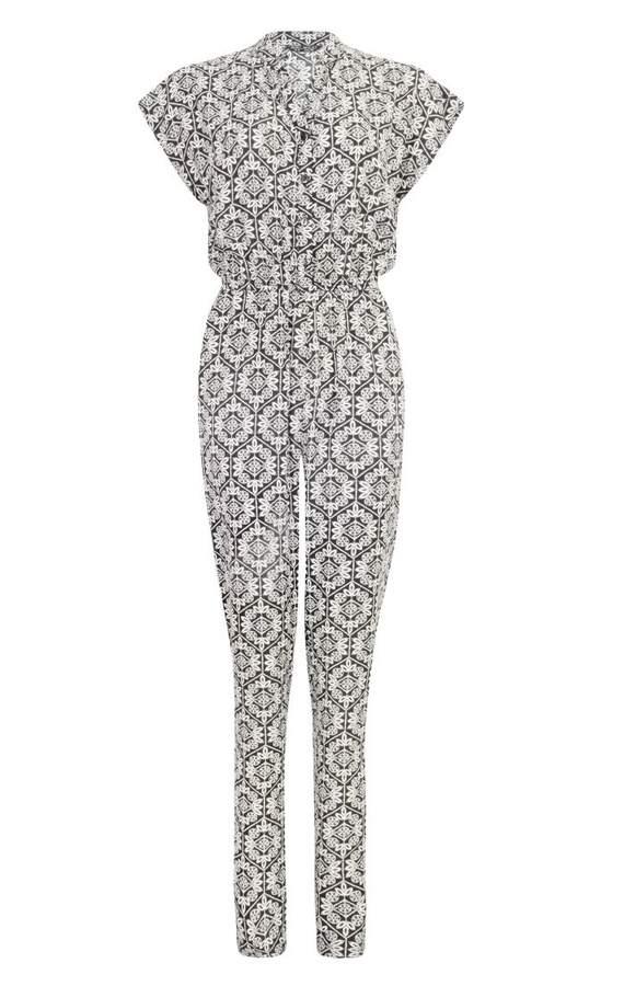 Tile Print Jumpsuit