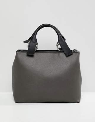 Asos Design DESIGN extended handle tote bag