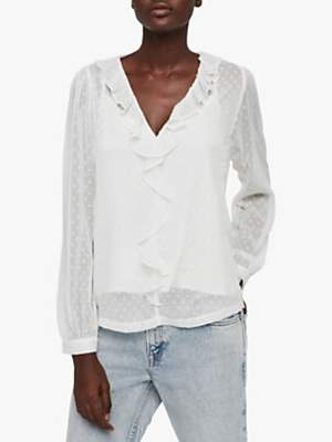 3bf9218f0ee177 AllSaints Long Sleeve Tops For Women - ShopStyle UK